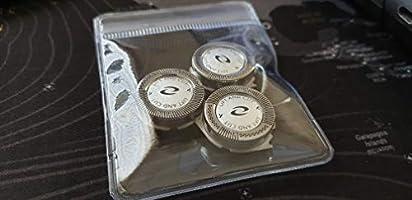 Recambio 3 uds. Cuchillas de 2 cuernos Premium para afeitadora Philips máquina de afeitar HQ8890 HQ8830 HQ8845 PT710, PT715, PT720, PT725, PT730, PT735, PT860, PT870 HQ6075 HQ6090 HQ7120, HQ7165: Amazon.es: Salud y