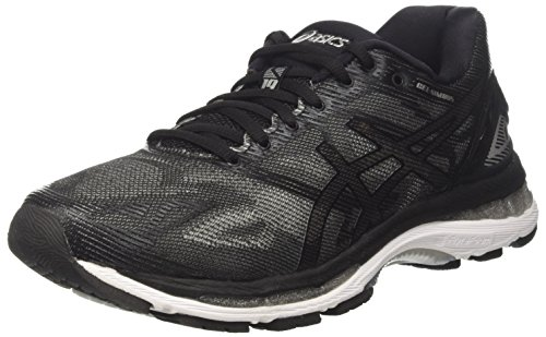timeless design ac1ed 8dd44 ASICS Gel-Nimbus 19 Mens Running Trainers T700N Sneakers Shoes (UK 9.5 US  10.5 EU 44.5, Black Onyx Silver 9099)