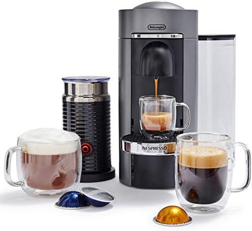 Amazon.com: DeLonghi ENV155TAE VertuoPlus Deluxe Nespresso ...