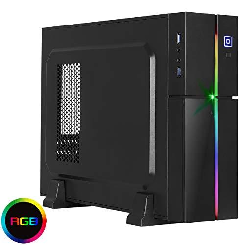 Aerocool Playa Desktop RGB PC Gaming Case,MATX, ITX, 13 Ligh