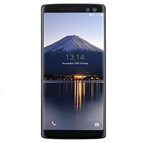 Generic DOOGEE BL12000, 4GB+32GB, Dual Back Cameras + Dual Front Cameras, Fingerprint, 12000mAh Battery, 6.0 inch Android 7.0 MTK6750T Octa Core up to 1.5GHz, Network: 4G, OTG, OTA, Dual SIM(Black)