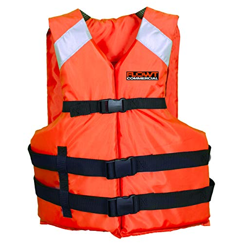 Flowt Type III Commercial All Purpose Life Vest - USCG ()