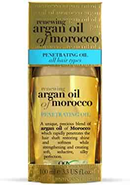 Organix Renewing Moroccan Argan Oil Penetrating Oil (all hair types (All Hair Types) 3.3 oz