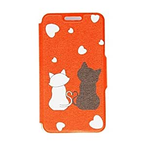 TOPAA Kinston Romantic Cat Pattern PU Leather Full Body Case with Stand for Samsung Galaxy S3 I9300