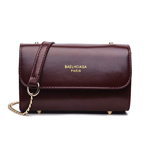 Bolso Wm Girl Square Mujer De Messenger Small Bag Chain HH5qwr1