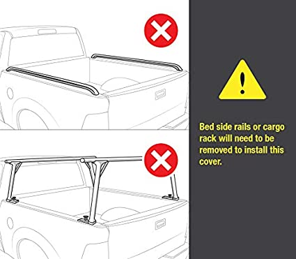 Fleetside 5 Bed Tyger Auto T2 Low Profile Roll-Up Truck Bed Tonneau Cover TG-BC2N2079 Works with 2005-2019 Nissan Frontier for Models with or Without The Utili-Track System
