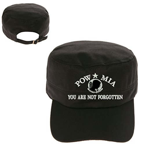 (POW MIA Military Cadet Army Hunter Castro Cap Hat)