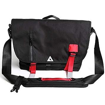 9a34db4c624d Messenger Bag Unisex Backpack Nylon Satchel Shoulder Crossbody Messenger Bag  School Work Sport Fits 14 Inch