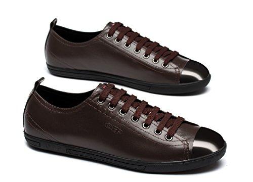 Cordones Para Opp Marrón Zapatos De Piel Hombre AZFqa0Eqw