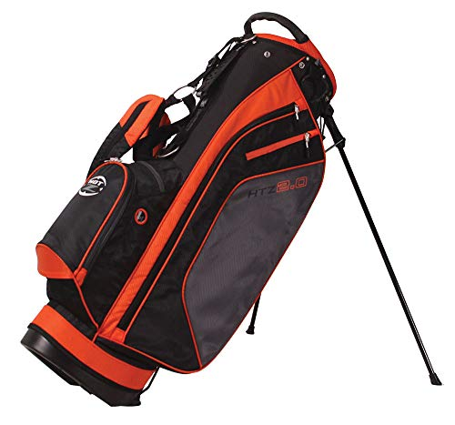 Hot-Z 2017 Golf 2.0 Stand Bag, Orange/Black/Gray