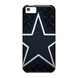 Protective Hard Cell-phone Cases For Iphone 5c (kuM6052oapb) Allow Personal Design Stylish Dallas Cowboys Series