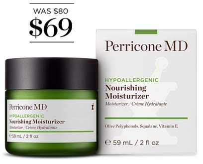 Perricone MD Hypoallergenic Nourishing Moisturizer (Md Skin Care Dry Skin Moisturizer)