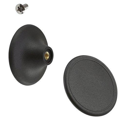 lodge stainless steel knob - 3