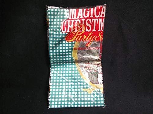 東京ディズニーランド MAGICAL CHRISTMAS Party '89 ハンカチ t56