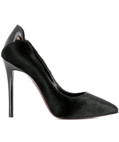 Negro Mujer Zapatos Cuero Franco Altos Colli FC1015020SPECCHIONERO qavWtz