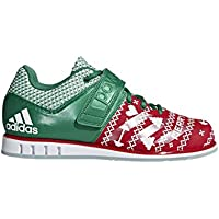 Adidas Powerlift 3.1 Men's Weightlifting Shoes (Scarlet/Green)
