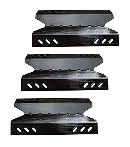(VICOOL Porcelain Steel Heat Plate Replacement for BBQ Pro BQ05041-28, BQ51009, Kenmore, Outdoor Gourmet, SAMS Club Gas Grill Models, hyJ643A, SA0465-1, 3-Pack)