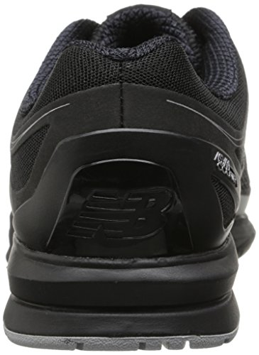 New Balance Men's MX1267 Training Shoe,Black/Silver,9.5 2E US