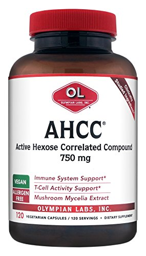 Olympian Labs AHCC Supplements, 120 Count by Olympian Labs