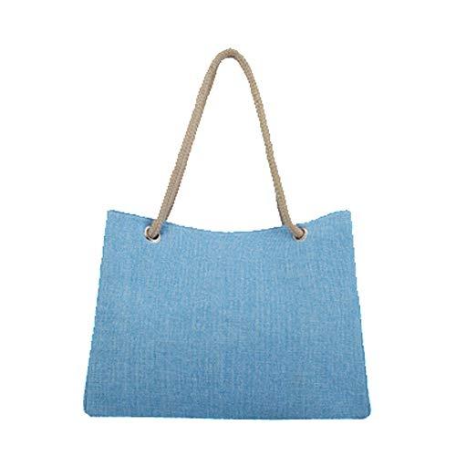 mochila única MENGMA Bolso Azul para mujer talla 5ffqcvHwZ
