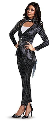 Disney Women's Jack Skellington Deluxe Adult Costume,