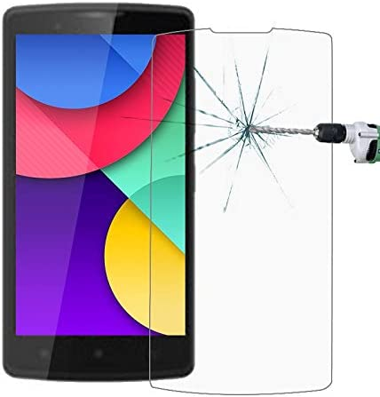 No Retail Package GzPuluz Glass Protector Film 50 PCS for Lenovo A2010 0.26mm 9H Surface Hardness 2.5D Explosion-Proof Tempered Glass Film