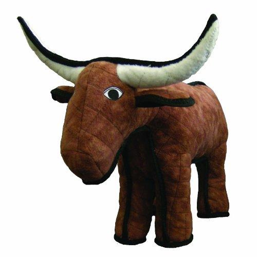 Tuffy's Bevo the Bull Dog Toy, My Pet Supplies