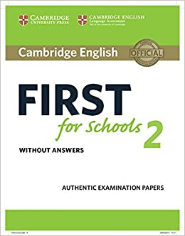 Cambridge English First For Schools 2. Student's Book Without Answers por None epub