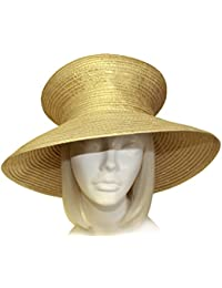 Satin-CRIN Stovetop Crown Wide Brim Hat Body (Untrimmed Hat Only) 301