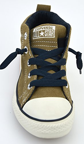 Mid Twilight kinder Chuck Willow unisex wildleder Blue Street high Suede sneaker Converse Taylor taqwPtT
