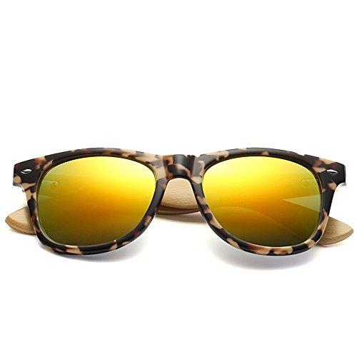 sol 6 y de sol sol patas personalidad gafas para de hombres Gafas madera bambú de gafas de mujeres Shop de Nueve bambú Gafas de de sol de Yz71ndYqwS