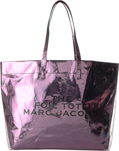 Marc Jacobs Women's The Foil Tote Bag, Pink, One Size
