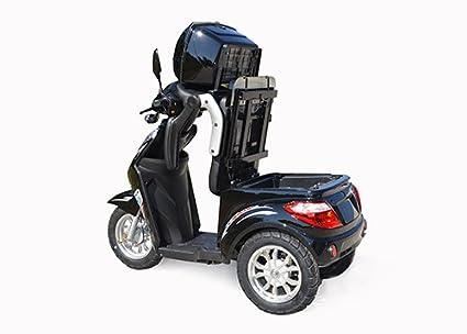 650 W eScooter - Scooter eléctrico de 3 ruedas, silla eléctrica para personas mayores o incapacitadas ECO Engel 500, marrón, 1650x690x1080mm: Amazon.es: ...