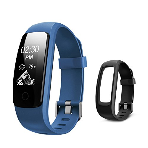 Fitness Tracker HR - Letsfit Activity Tracker Watch with Heart Rate Monitor - IP67 Water Resistant Pedometer - Calorie and Step Counter Watch for Android & iOS ¡­