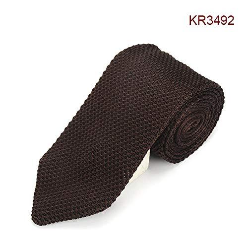 Dastrues Men Formal Necktie Casual Knitted Skinny Neck Ties for Wedding Business Party Groom