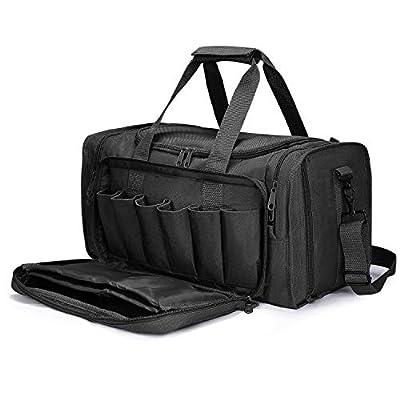 G4Free Gun Pistol Range Bag Tactical Shooting Handgun Duffle Bags Accessory Shoulder Strap Sling Pack Handbag Tote Bag