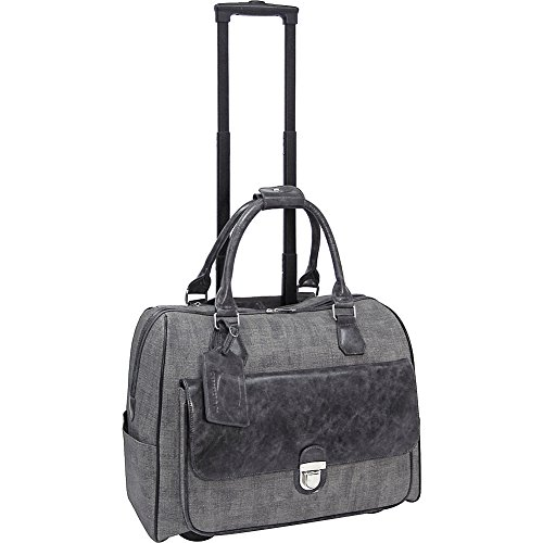cabrelli-linda-linen-15-laptop-rollerbrief-charcoal-grey