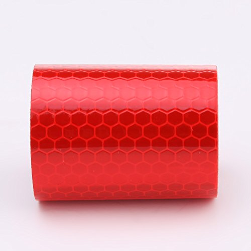 Awakingdemi 5300cm Car Reflective Tape Stickers Car Styling for Automobiles Safe Car Truck Motorcycle Cycling Reflectors (Red) by Awakingdemi (Image #1)