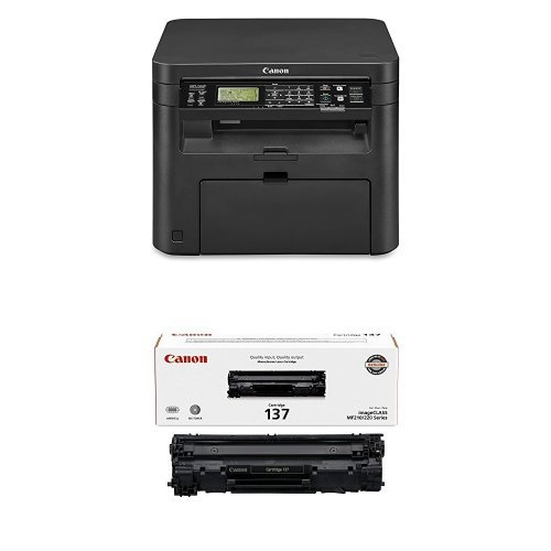 Canon image CLASS D570 Monochrome Laser Printer with Scanner & Copier with Canon Original 137 Toner Cartridge - Black by Canon
