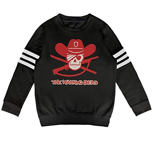 Ruslin Kid Walking-Dead-Rick-Grimes- Sweatshirt Long Sleeve Costumes for Boys Or Girls