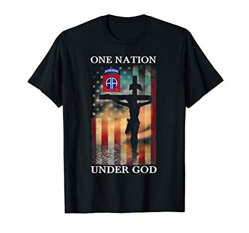 82nd Airborne Division One Nation Under God T-Shirt