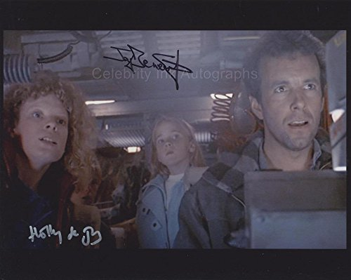 JAY BENEDICT and HOLLY DE JONG as Russ and Ann Jorden - Aliens Pucka AUTOGRAPHS