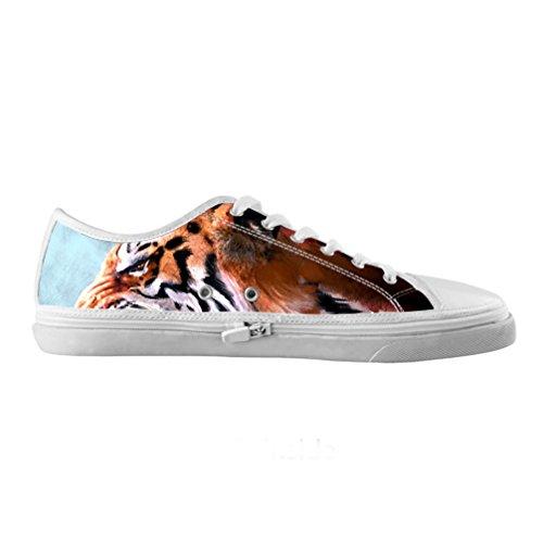 Cheese Auf Maßnahme Tiger Originals Schuhe Leinwand hochwertige Mode Männer Mode auf Maßnahme von qualitatv der Damen Tennis Schuhe, US8/EUR41