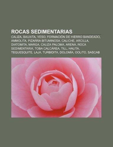 Rocas Sedimentarias: Caliza, Bauxita, Yeso, Formacion de Hierro Bandeado, Ammolita, Pizarra Bituminosa, Caliche, Arcilla,...