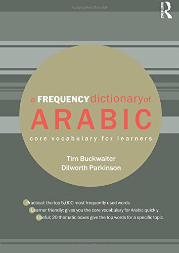 Book A Frequency Dictionary of Arabic: Core Vocabulary for Learners (Routledge Frequency Dictionaries) EPUB