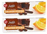 Sweet's Milk Chocolate Orange Sticks, 2 Pack; (10.5 oz. box)
