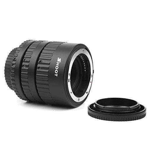 D/&F AF Macro Extension Tube Auto Focus Close-Ups Ring for Canon EF EF-S Lens Canon 7D,500D,600D,700D,5D Mark II III Rebel T2i T5i T3i