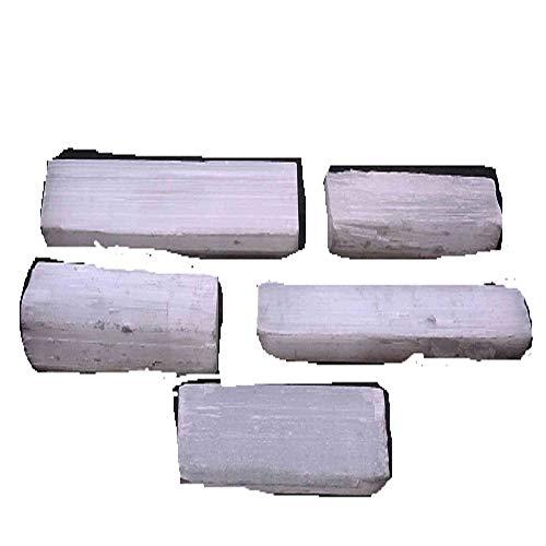 Gypsum Crystals - Selenite Sticks 1/2 Lb White Gypsum Crystals Wands Blades Soul Star Chakra