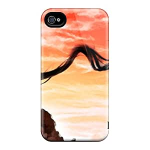 Premium Durable She Must Be Dead Fashion Tpu Iphone 4/4s Protective Case Cover