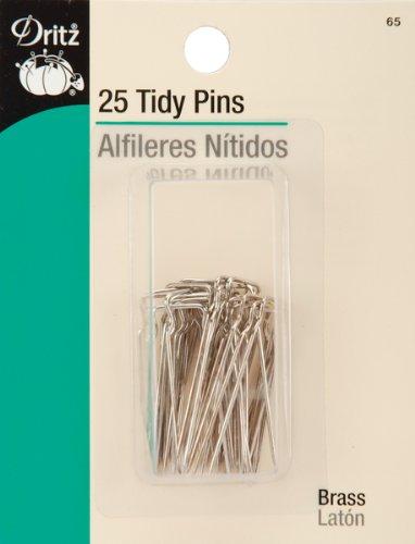 Pins Tidy - Dritz(R) Tidy Pins - 1-1/4 Inch 25/Pkg